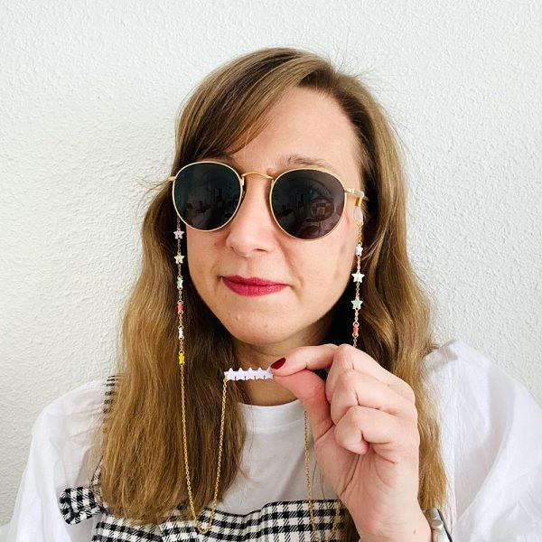 Cuelga gafas star