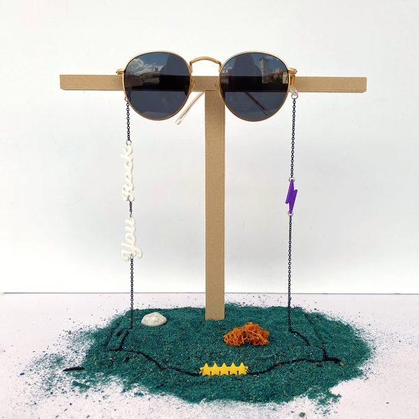 Cuelga gafas You Rock en impresión 3D