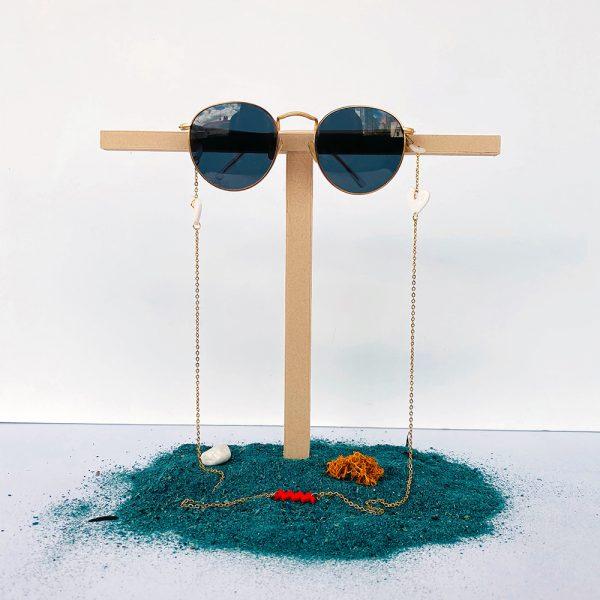 Cuelga gafas cuore en impresión 3D